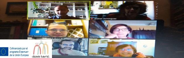 'Creando Puentes': reunión online de los socios del Proyecto