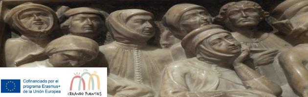 Proyecto Erasmus + 'Creando Puentes': descubriendo el Museo Medieval de Bolonia con el historiador de Arte Paolo Cova