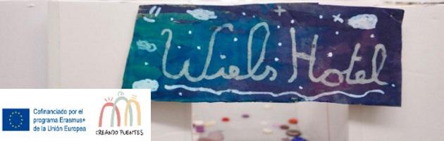 Exposición 'Hotel Wiels' de MUS-E Bélgica y 'Creando Puentes': alumnado de la escuela De Puzzel trabajan con diversos artistas en el Centro de Arte Contemporáneo Wiels, en Vorst (Bruselas)