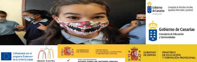 Echándole una sonrisa al 'bicho', también en el CEIP Nieves Toledo