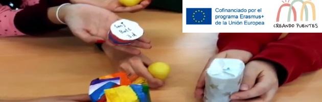 Métodos MUS-E, desde Alemania, para 'Creando Puentes': construimos 'shakers'
