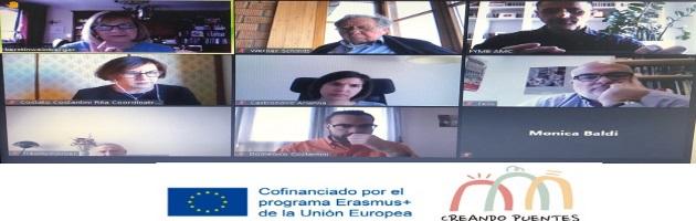 Los socios de Creando Puentes deciden iniciar los encuentros transnacionales