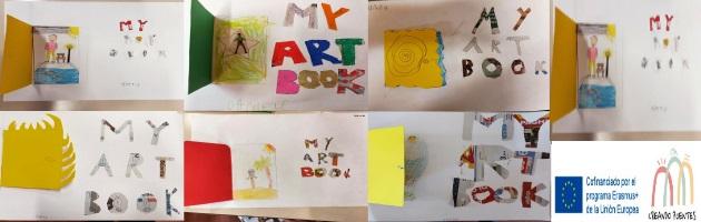 'Creando Puentes': cada alumno/a de la escuela 'Casaralta' (Bolonia) crea su propio libro-museo