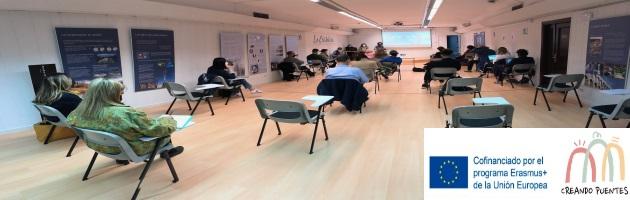 Encuentro 'Creando Puentes' en la Residencia de La Cristalera, Miraflores de la Sierra