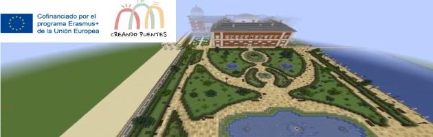'Creando Puentes': el Palacio Real de Aranjuez, en Minecraft